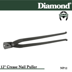 31-NP12, Diamond Catalog Number NP12, Diamond Farrier NP12 12 in. Crease Nail Puller