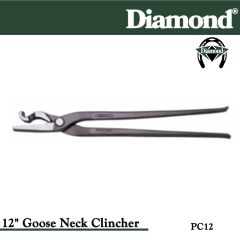 31-PC12, Diamond Catalog Number PC12, Diamond Farrier PC12 12 in. Gooseneck Clincher