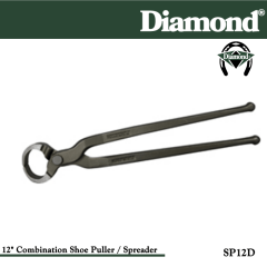 31-SP12D, Diamond Catalog Number SP12D, Diamond Farrier SP12D 12 in. Combination Shoe Puller and Spreader