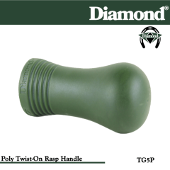 31-TG5P, Diamond Catalog Number TG5P, Diamond Farrier TG5P Twist-on Rasp Handle