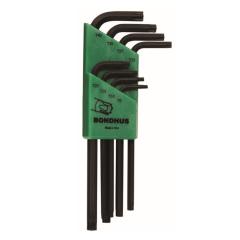 Bondhus Torx End Long Arm L-Wrench 8pc Set (TLX8) Corrosion Resistant