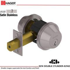 Hager 3214 US32D Deadlock Stock no 132824