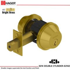 Hager 3214 US3 Deadlock Stock no 148520