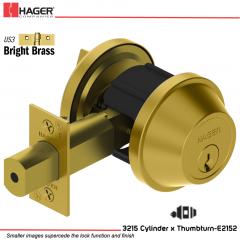Hager 3215 US3 Deadlock Stock no 148498