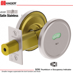 Hager 3216 US32D Deadlock Stock no 143043