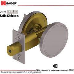 Hager 3220 US32D Deadlock Stock no 111395