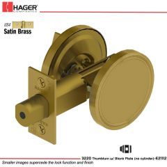 Hager 3220 US4 Deadlock Stock no 138254