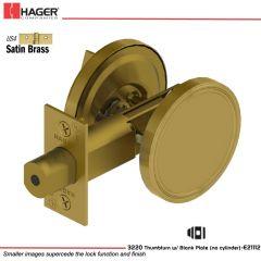 Hager 3220 US4 Deadlock Stock no 111396