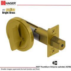 Hager 3221 US3 Deadlock Stock no 111833