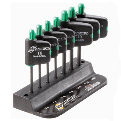 Torx Plus Flag Driver Handle 7pc Key Set TP6-TP20 TPFX7 35045