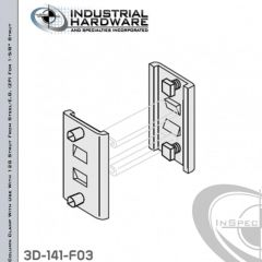 Column Clamp With Use With 12G Strut From Steel-E.G. (ZP) - 1000lb Capacity For 1-5/8 in. Strut
