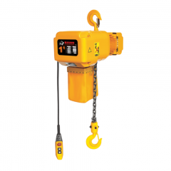 Bison HHBD01SK-01: 1 Ton 3 Phase Single Speed Electric Chain Hoist 20 ft. Lift