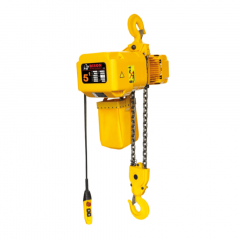 Bison HHBD05SK-02: 5 Ton 3 Phase Single Speed Electric Chain Hoist 20 ft. Lift