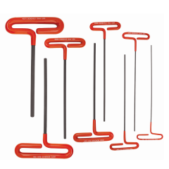 Cushion Grip Loop T-Handle Hex End 8pc Set 2-10mm (CTHX80M-9) (46587) 9 in. Blade
