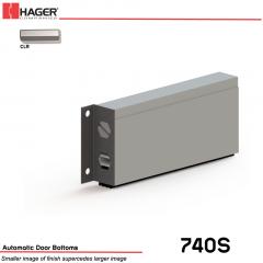 Hager 740S 34 in CLR Automatic Door Bottom Stock No 084803
