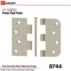 Hager 8744 USP Full Mortise Hinge Stock No 029639