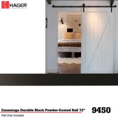 """Hager 9450 Conestoga 72"""" Track Stock No 186243"""