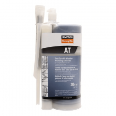 Simpson Strong-Tie AT30 Acrylic Anchoring Adhesive 30 oz. w/ Nozzle