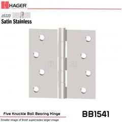 Hager 1541 US32D Full Mortise Hinge Stock No 034534