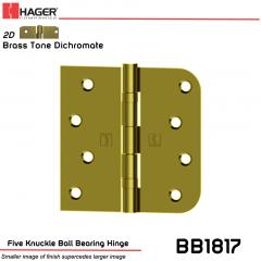 Hager 1817 US2D Full Mortise Hinge Stock No 070498