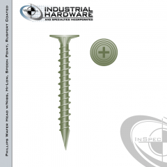 CB815SPN, cement board screws, 8-15 x 1-5/8 cement board fasteners
