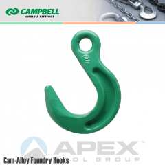 Campbell #5665215 3/4 in. Cam Alloy Foundry Eye Hook - Grade 100 - Painted Green