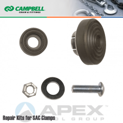Campbell #6501000 Repair Cam/Pad Kit For SAC (Screw Adjusted Cam) Clamp 1 Metric Ton WLL