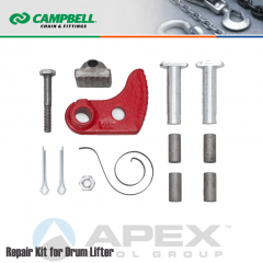 Campbell #6505011 Repair Cam/Pad Kit for Drum Lifter No. 52 Part #6410101