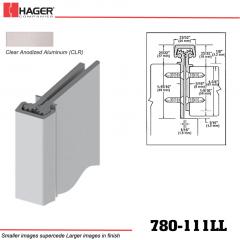 Hager 780-111LL CLR Concealed Leaf Hinge Stock No 195079