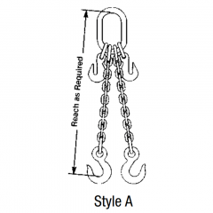 Double Adjustable Chain Sling