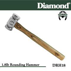 Diamond Farrier DRH18 1.8 lb Rounding Hammer