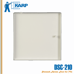 2F-2101212-CYL,Karp DSC-210 12 in. x 12 in. Recessed Access Door-Cylinder Lock-Large For Acoustical Tile Ceiling/Wall