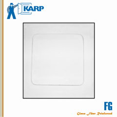Karp FG (GFRG) 24 in. x 24 in. Glass Fiber Reinforced Gypsum Ceiling Access Door-Smooth White Finish