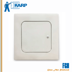 Karp FGH 24 in. x 24 in. Glass Fiber Reinforced Gypsum Ceiling/Wall Hinged Access Door-Smooth White Finish