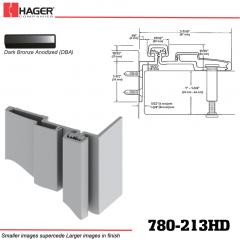 Hager 780-213HD DBA Half Surface Leaf Hinge Stock No 195220