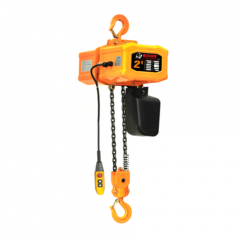 Bison HH-B20: 2 Ton Single Phase Electric Chain Hoist 20 ft. Lift