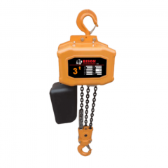 Bison HH-B30: 3 Ton Single Phase Electric Chain Hoist 20 ft. Lift