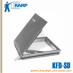 "Karp KFD-SD 72"" x 48"" Hinged Floor Access Door Non-Watertight No Spring with Best Rim Cylinder With Night Latch"