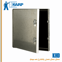 2F-KHD2424-NAS-NC-CL, Karp KHD 23-1/2 in. x 23-1/2 in. Duct Access Door-NAS-NC-CL, Karp  KHD Model Duct Door