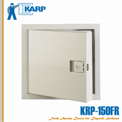 """2F-KRPP4848,  KRP-150FR 48"""" x 48"""" with paddle latch with keyed cylinder (standard) fire rated access door, KRPP"""