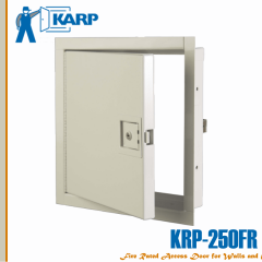 "2F-NKRPP3636,  KRP-250FR 36"" x 36"" with paddle latch with keyed cylinder (standard) fire rated access door, NKRPP"
