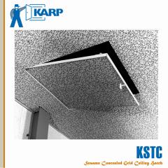 Karp KSTC/CAD 24 in. x 24 in. Sesame Concealed Grid Ceiling Hatch