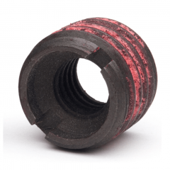 1/4-20 UNC x 0.484 SwiftSert Threaded Insert For Metals - Carbon Steel 12L14 - Made in USA
