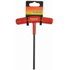 Hex End Cushion Grip T-Handle 6mm (Retail 2-Pack) (45268) 6 in. Long Hex Key, 45268