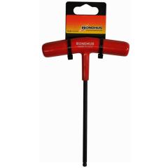 Ball End Cushion Grip T-Handle 6mm (Retail 2-Pack) (53168) Graduated Length, 53168
