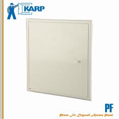 Karp PF 24 in. x 24 in. Wall Access Door Prime Coated White-Screw Cam Latch