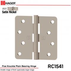 Hager 1541 US15 Full Mortise Hinge Stock No 034837