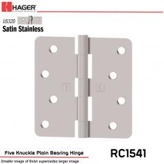 Hager 1541 US32D Full Mortise Hinge Stock No 033009
