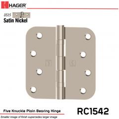Hager 1542 US15 Full Mortise Hinge Stock No 038119