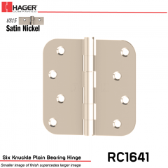 Hager 1641 US15 Full Mortise Hinge Stock No 080132
